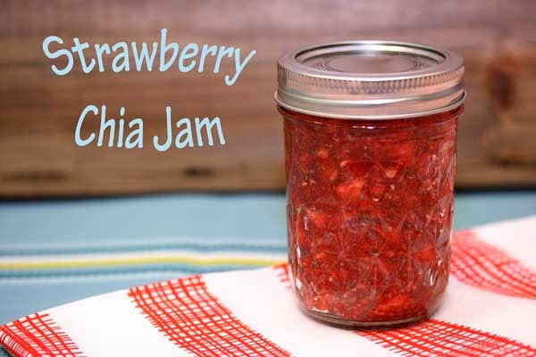 Strawberry Chia Freezer Jam