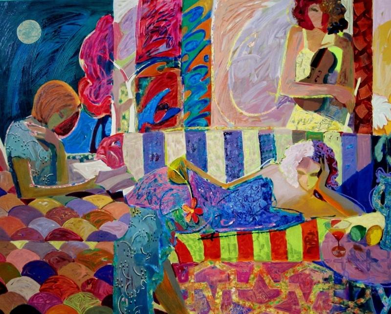 Mahmood Sabzi | Iranian Abstract Impressionist painter