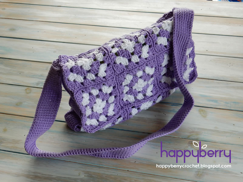 Happy Berry Crochet: What is a mile-a-minute, granny ...