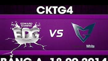 CK Thế Giới 2014 - Bảng A, EDG vs SSW