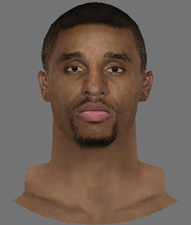 NBA 2K14 George Hill Face Mod