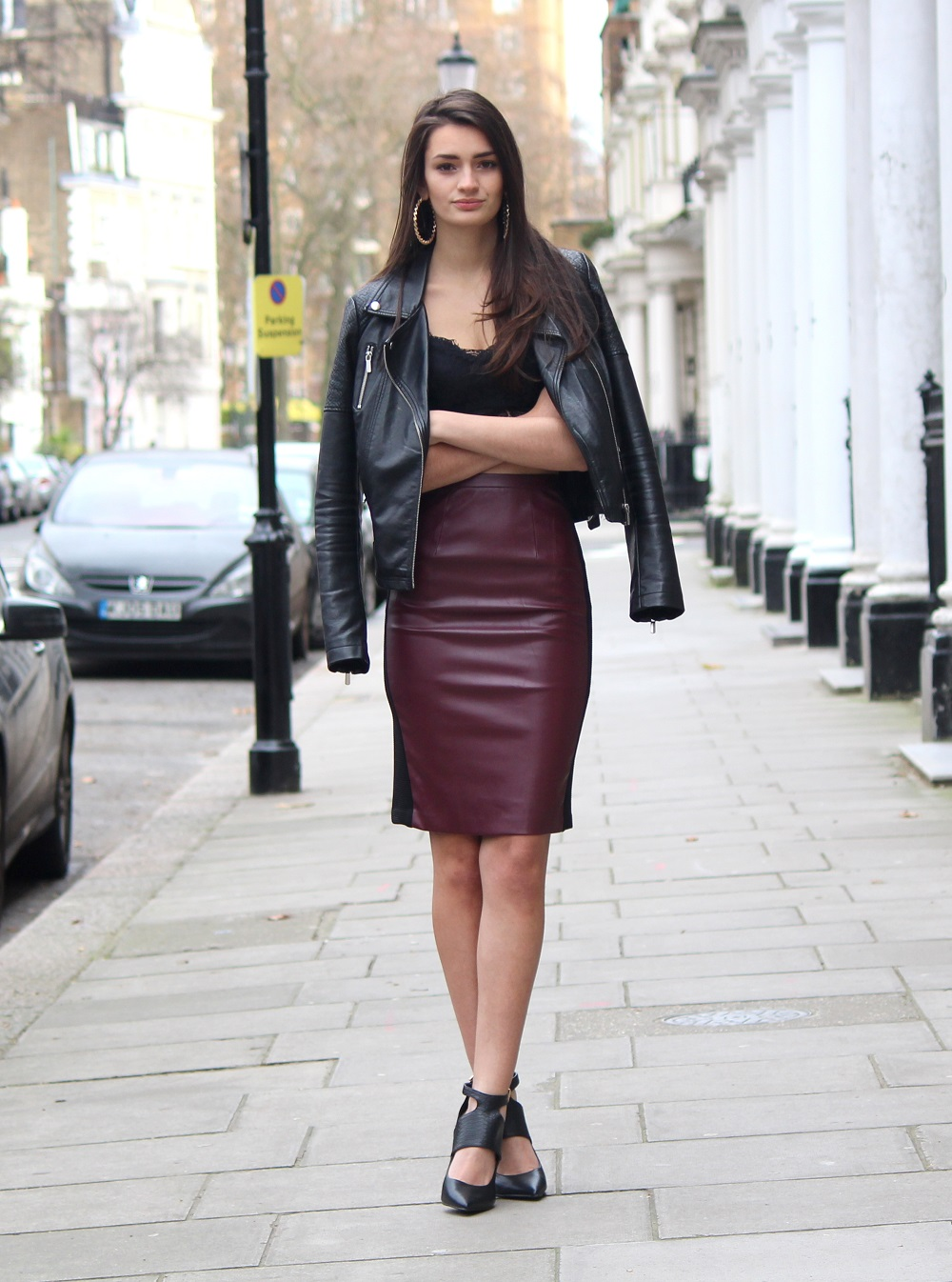 Burgundy leather skirt miss selfridge – Modern skirts blog for you