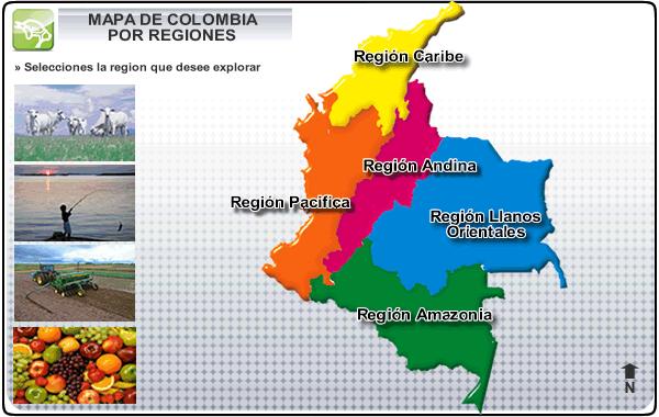 Conformada por los departamentos de Atlántico, Bolívar, Cesar