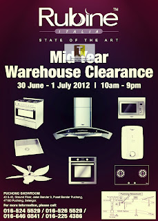 Rubine Mid Year Warehouse Clearance