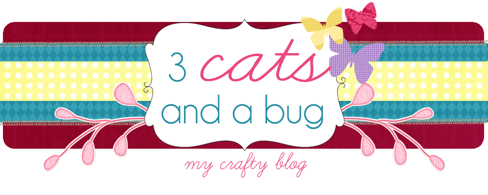 3 Cats and a Bug