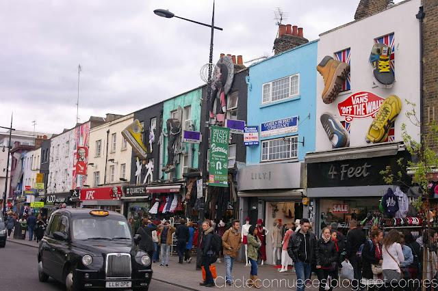 Camden Town Londres mercado