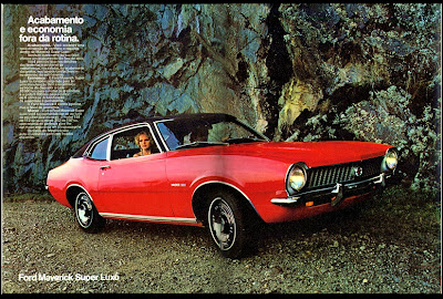 propaganda Ford Maverick Super Luxo - 1973
