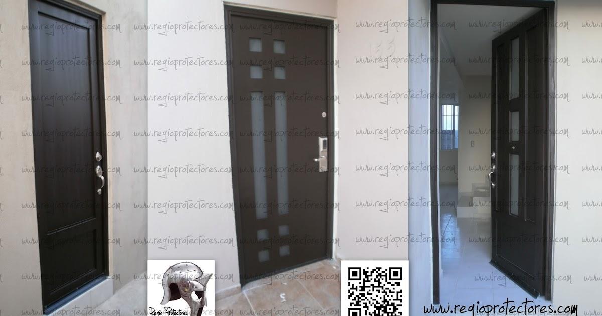 Regio protectores regio protectores puertas principales for Modelos de puertas principales minimalistas