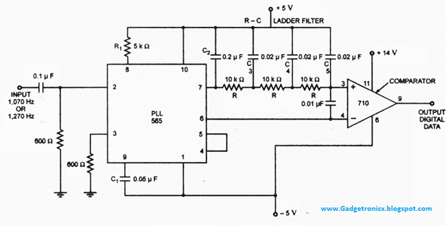 FSK-demodulator-using-IC-565