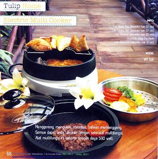 Info & Harga Twin Tulip Tulipware 2014 : Electric Multi Cooker - Alat Masak