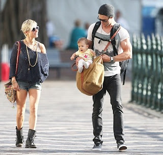 Chris Hemsworth Wife Elsa Pataky 2013
