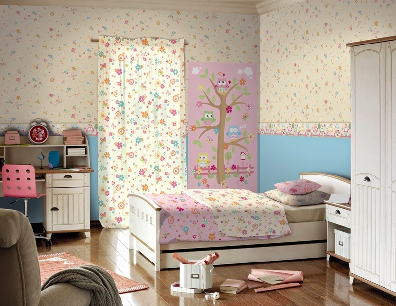 Papel pintado - Decoracion de dormitorios con papel pintado ...