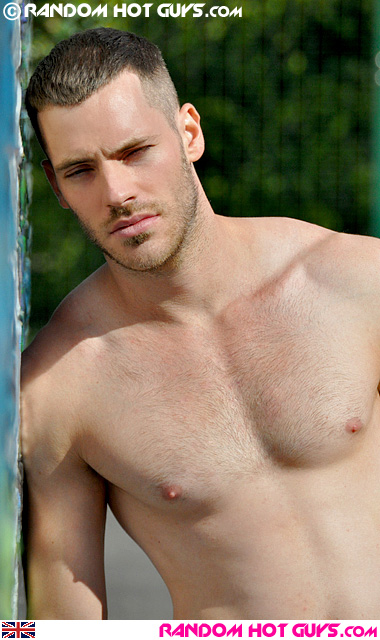 British model and personal trainer Colin Gentry