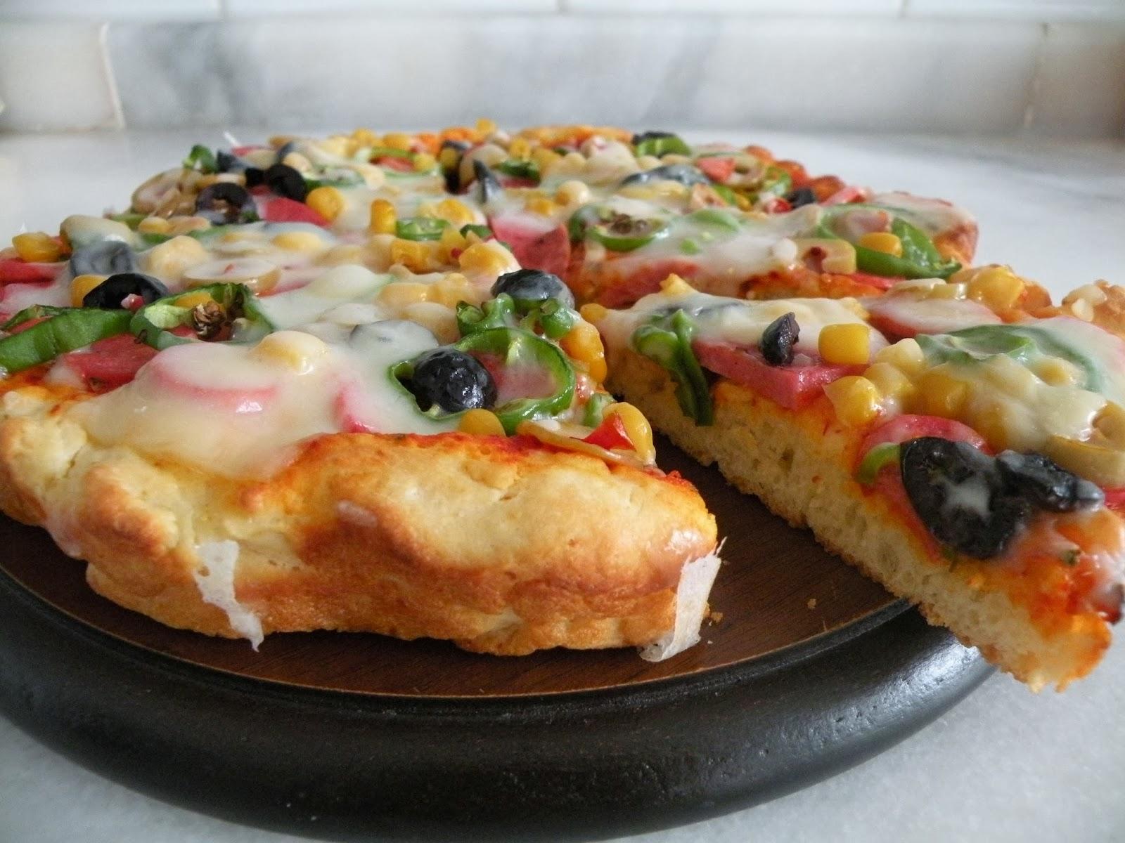 Sodalı Pizza – Tava Pizzası