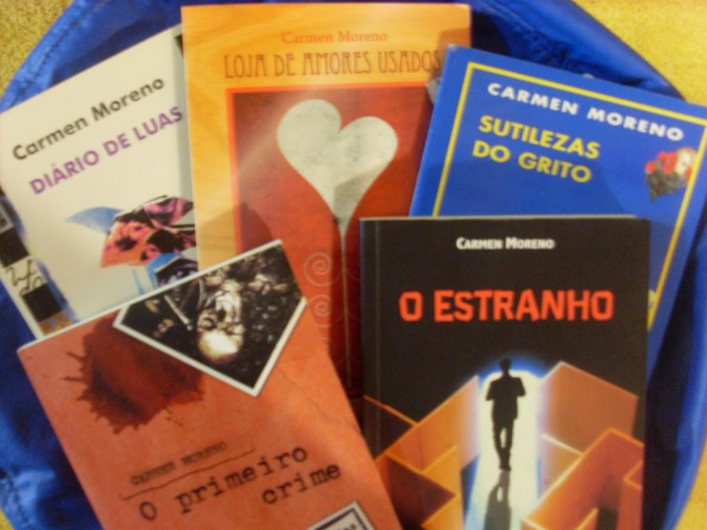 Livros-solo da Escritora