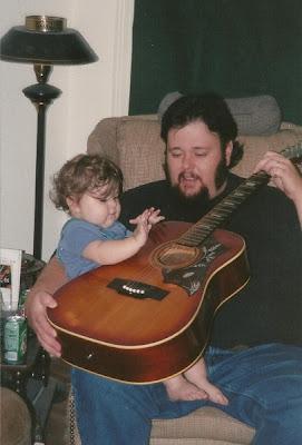 Tyler & her Poppa
