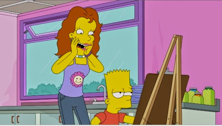 The Simpsons 25x19 – What Expect When Bart's Expecting