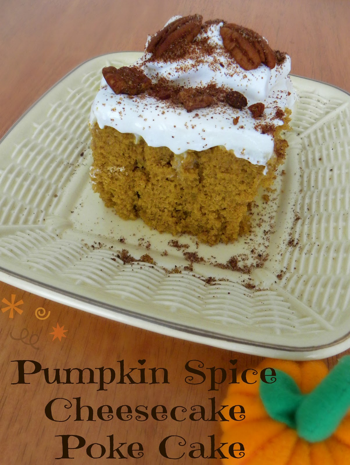 Low-Fat Spice Cake With Maple Cream Recipe — Dishmaps