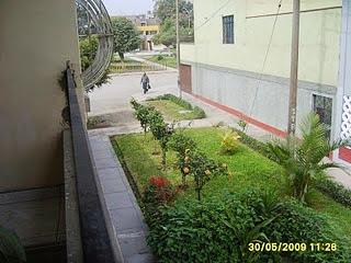 Vista del pasaje donde se encuentra ubicada la casa