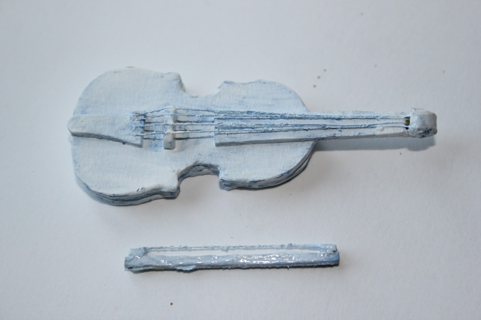 Скрипка своими руками для куклы 96