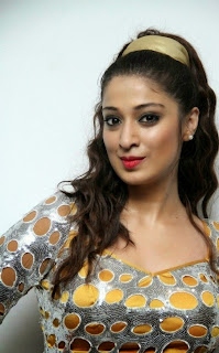 Raai Laxmi in Shining Silver Tight Dress Rosy Cheeks Beautiful Pics Must see