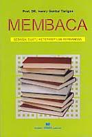 toko buku rahma: buku MEMBACA SEBAGAI SUATU KETRAMPILAN BERBAHASA, pengarang henry guntur tarigan, penerbit angkasa