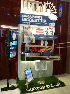 Singapore's Biggest Tip Jar