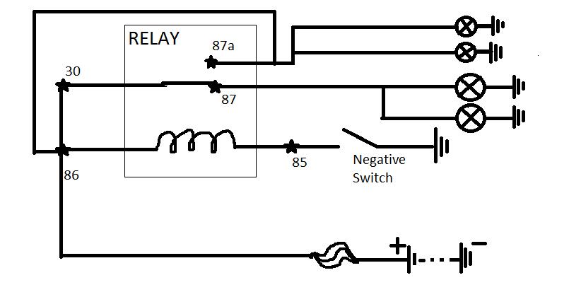 Relay Wiring Diagram 87a