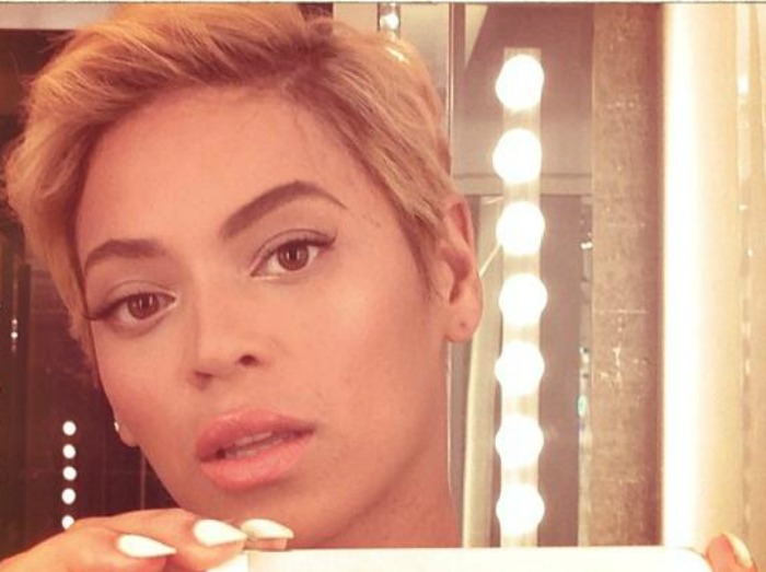 Beyonce new look hair cut