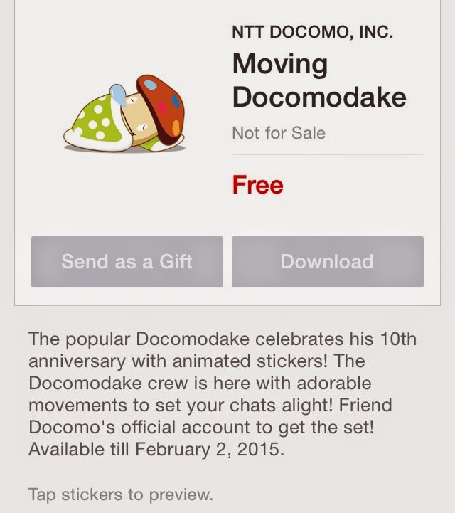 Moving Docomodake
