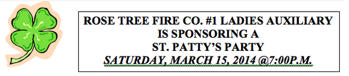 Help the Rose Tree Fire Dept.