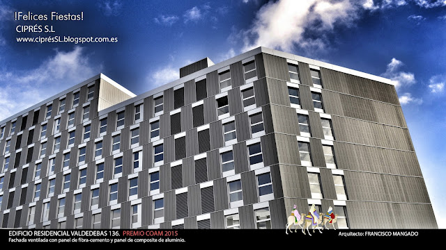 Cipres S.L, Fachada Tecnológica, Fachada Ventilada, Rehabilitación de edificio Madrid, Reforma de vivienda Madrid , Arquitectura Singular