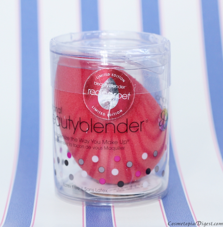 Red carpet limited edition Beautyblender makeup sponge