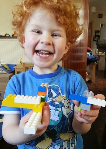LEGO model 3 year old