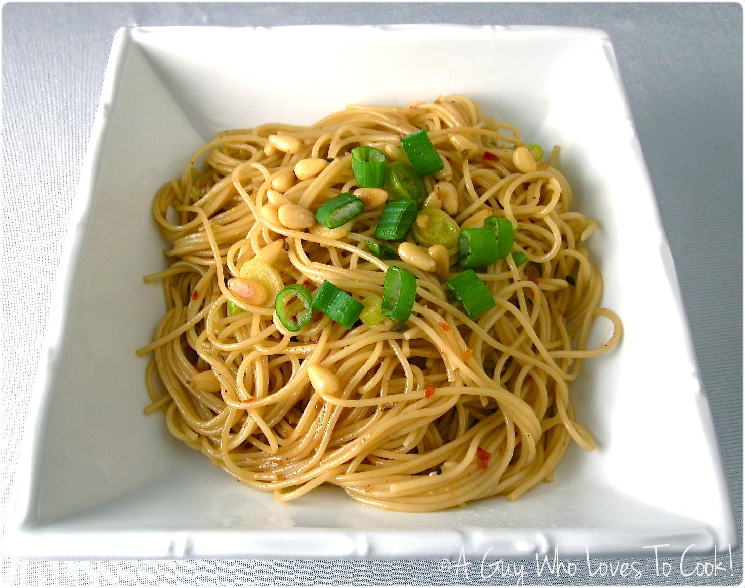 Sesame Fire Noodles