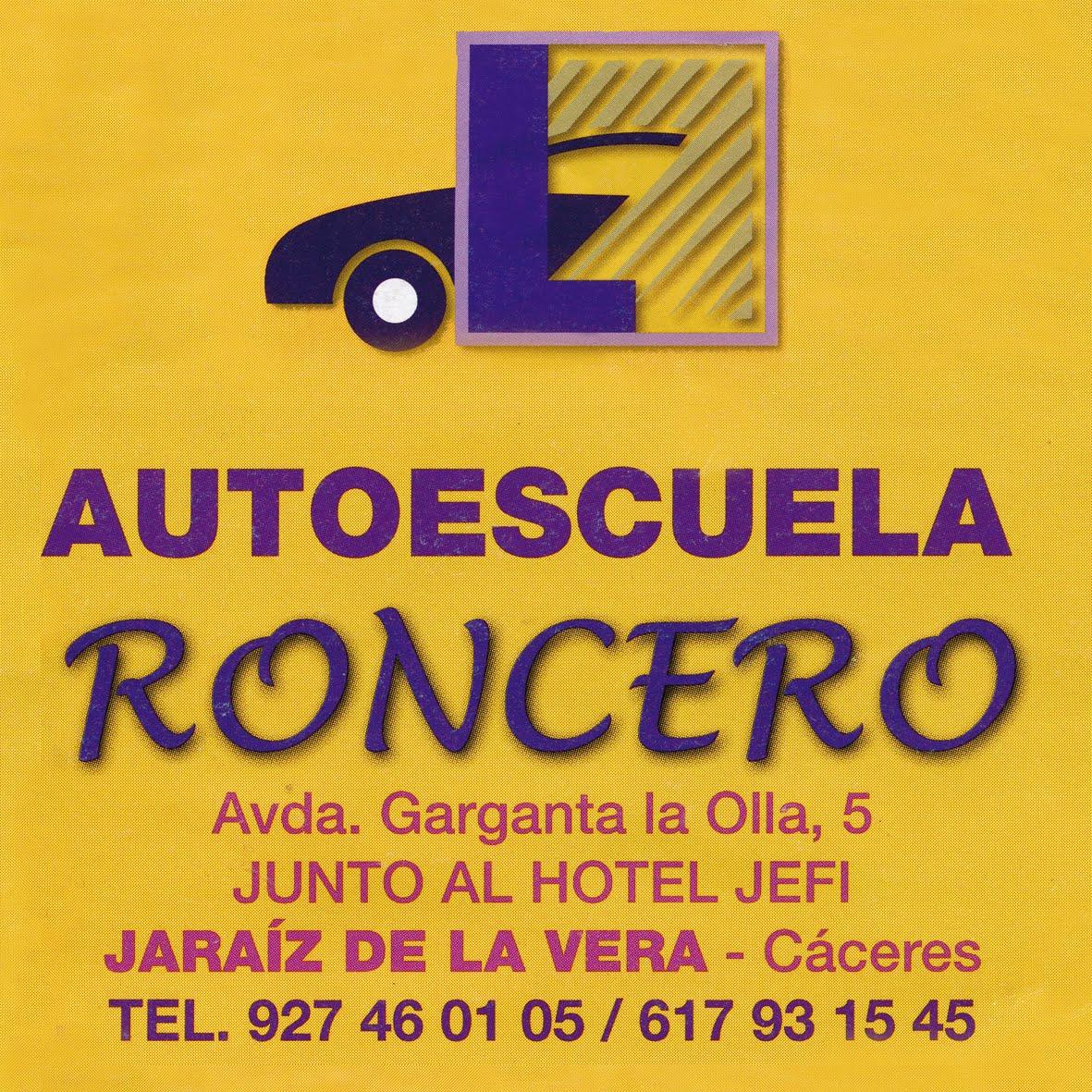 AUTOESCUELA RONCERO