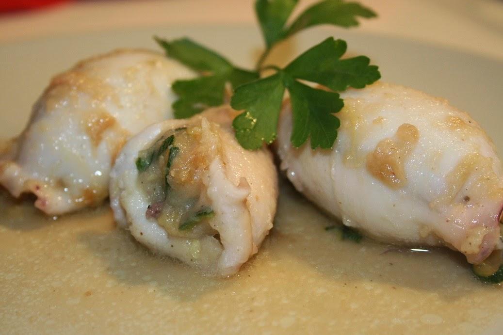 calamari ripieni di zucchine e patate