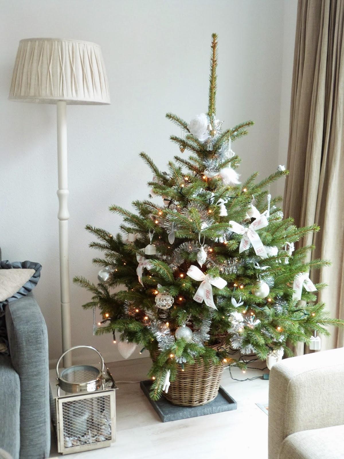 Het Brocante Schelpenhuisje Een Echte Kerstboom