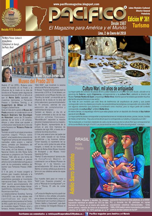 Revista PacíficoNº 361 Turismo