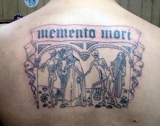 Memento Mori: Dance of Death tattoo