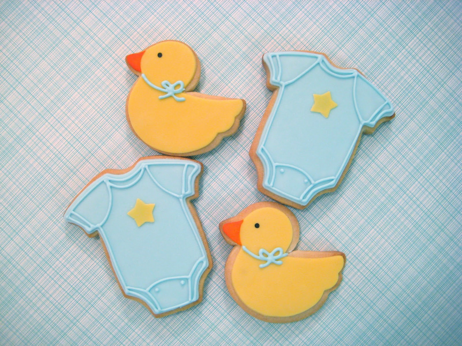 eat cake be merry baby shower cookies