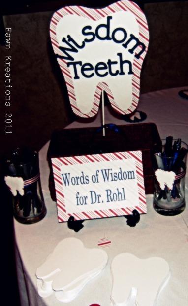 Fawn Kreations: Surprise Dental School Graduation Party ...