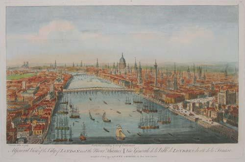 View of London, 1751
