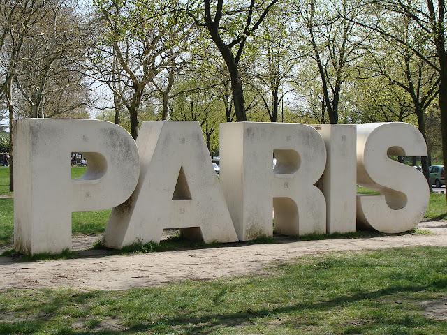Paryż, wycieczka, park, Paris