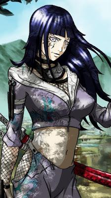 Hinata Hyuga Naruto Mobile Wallpaper
