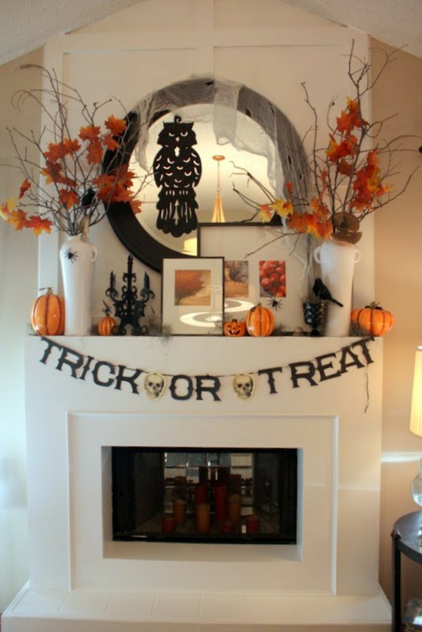 Halloween home decor elizabeth breton for Halloween home decorations