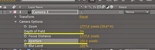 Use Null object control DOF 06