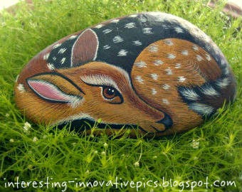 pet animals painted rocks, wild animals painted rocks, Homemade garden decoration ideas, outdoor decorating ideas, outdoor garden decorations