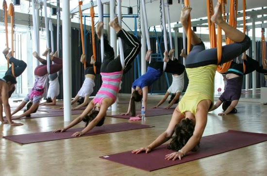 An Introduction to Yoga, Zumba, and Anti Gravity Fitness at Beyond Yoga Fairview