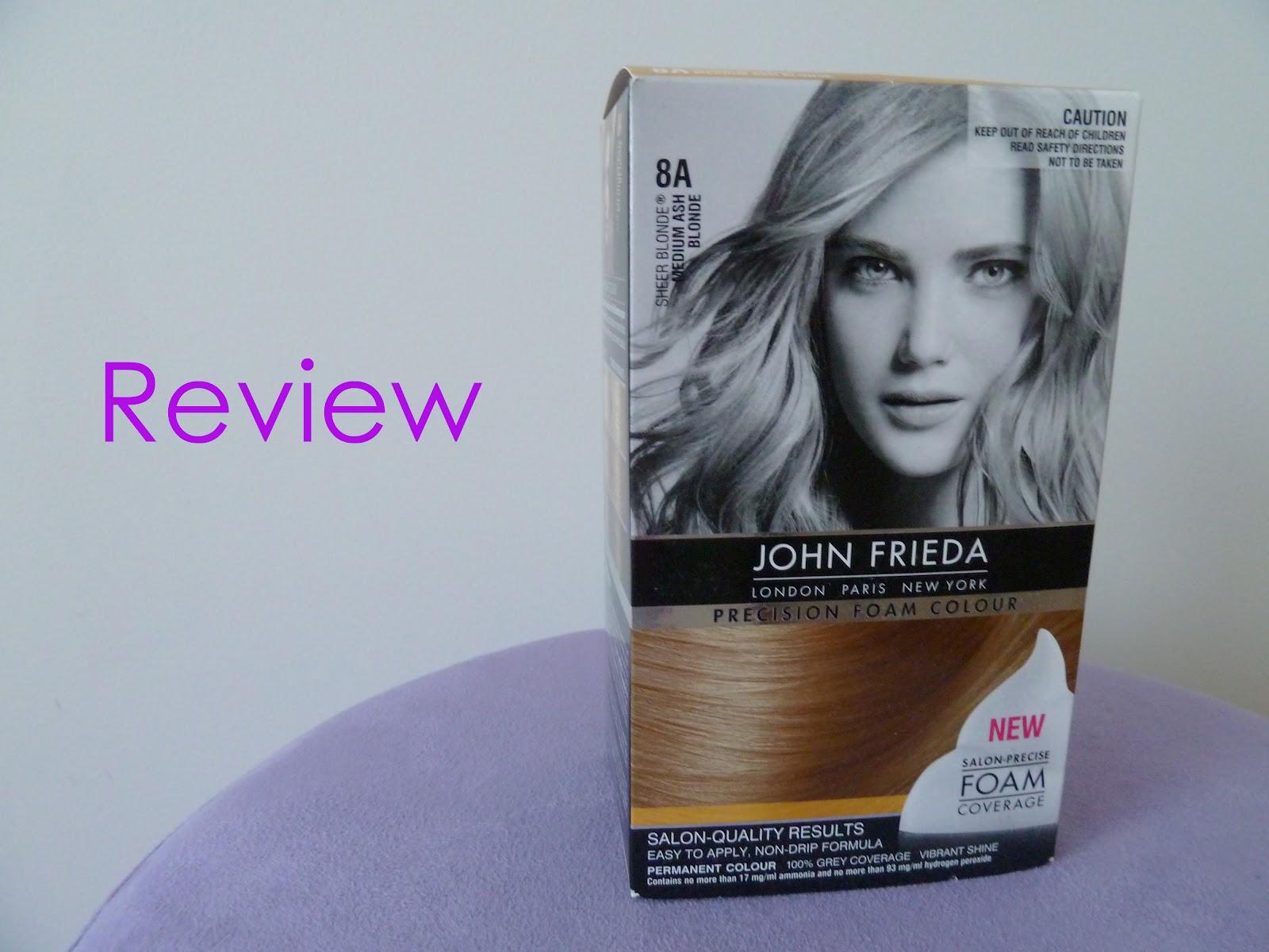 Australian Beauty Review John Frieda Precision Foam Colour